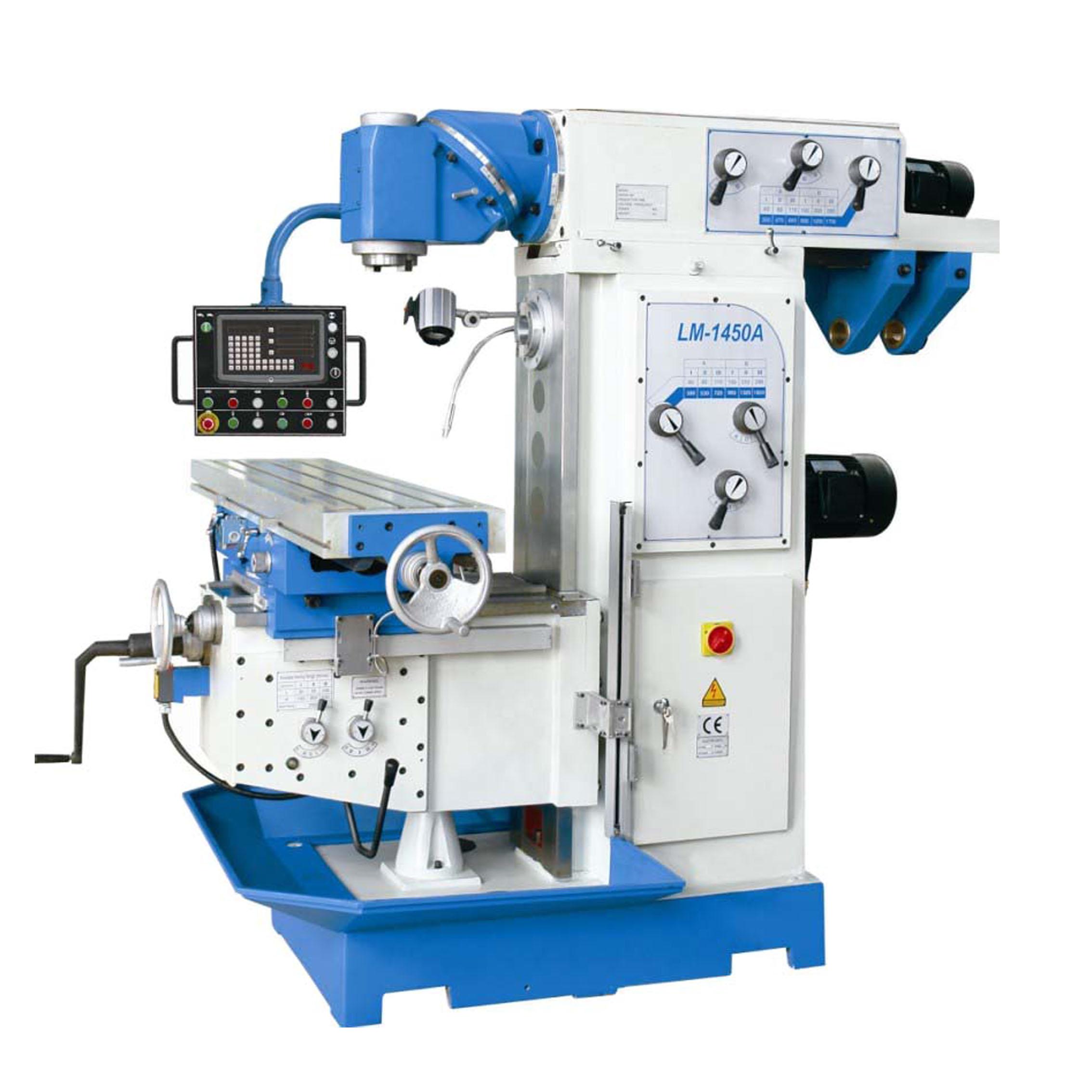 Manufacturer for Lathe Machine - Universal Vertical Horizontal Ram Milling Machine LM1450A  – Hoton