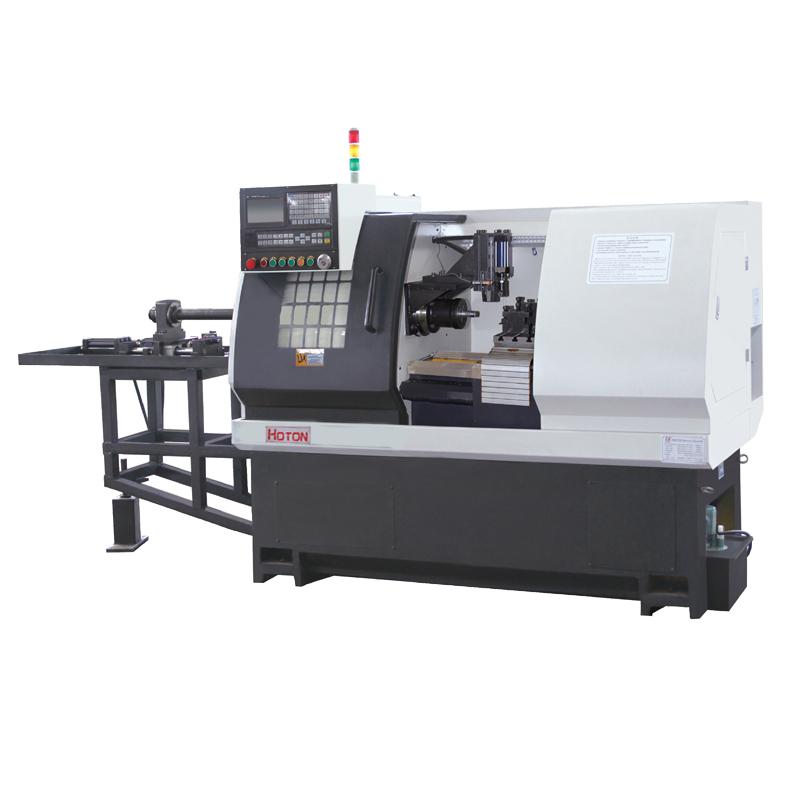 Manufacturer for Lathe Machine - CNC Flat Bed Lathe Machine CK6136 – Hoton