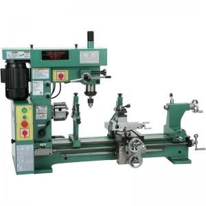factory low price Universal Gear Hobbing Machine - Combo Lathe/Mill HQ500 HQ800 – Hoton